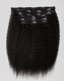 Extensions de cheveux clips-in texture CRÉPUE BLOW OUT