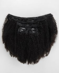 Extensions de cheveux clips-in texture crépue